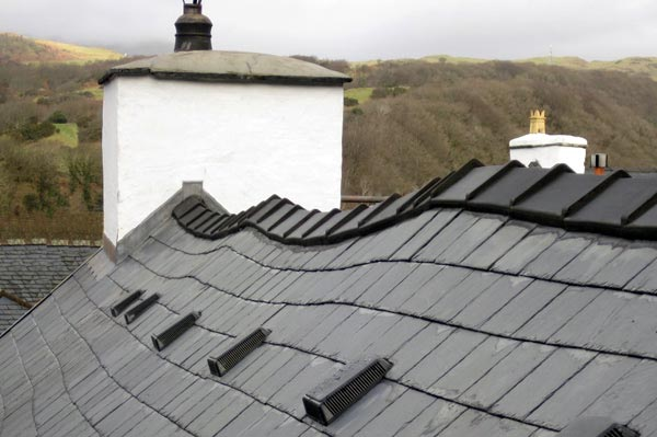 Roofing in Machynlleth, Powys, mid-Wales